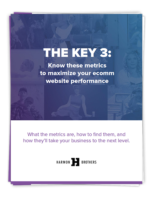 The Key 3: Know these metrics